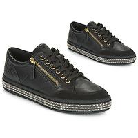 Παπούτσια Γυναίκα Χαμηλά Sneakers Geox D LEELU' Black
