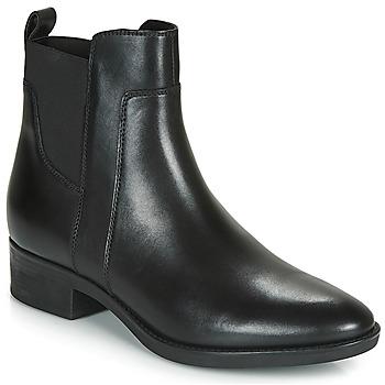 Παπούτσια Γυναίκα Μπότες Geox FELICITY Black