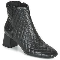 Παπούτσια Γυναίκα Μποτίνια Geox D SEYLA Black