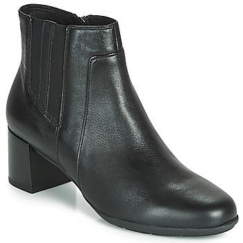 Παπούτσια Γυναίκα Μποτίνια Geox NEW ANNYA MID Black