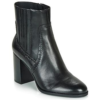 Παπούτσια Γυναίκα Μποτίνια Geox D JACY HIGH Black