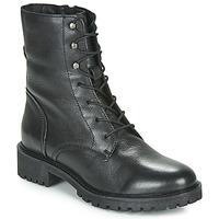 Παπούτσια Γυναίκα Μποτίνια Geox D HOARA Black