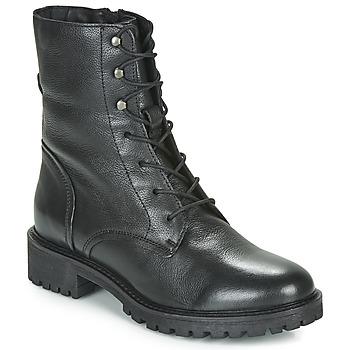 Παπούτσια Γυναίκα Μπότες Geox D HOARA Black