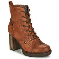 Παπούτσια Γυναίκα Μποτίνια Mustang 1336502-309 Cognac