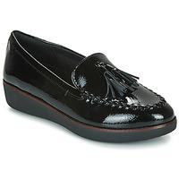 Παπούτσια Γυναίκα Μοκασσίνια FitFlop PETRINA MOCASSIN Black