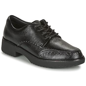 Παπούτσια Γυναίκα Derby FitFlop KEELY MICROSTUD BROGUES Black