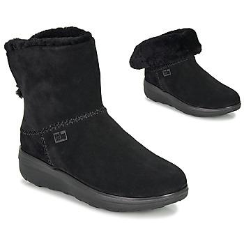Παπούτσια Γυναίκα Μπότες FitFlop MUKLUK SHORTY III Black