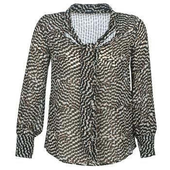 Υφασμάτινα Γυναίκα Μπλούζες Ikks BP13065-02 Beige / Black