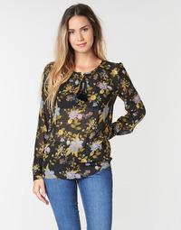 Υφασμάτινα Γυναίκα Μπλούζες Ikks BP13125-02 Black / Multicolour
