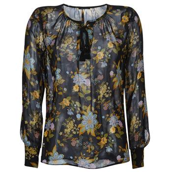 Υφασμάτινα Γυναίκα Μπλούζες Ikks BP13125-02 Black / Multicolore