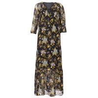 Υφασμάτινα Γυναίκα Μακριά Φορέματα Ikks BP30195-02 Black / Multicolore