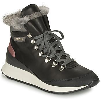 Παπούτσια Γυναίκα Ψηλά Sneakers Philippe Model MONTECARLO Black