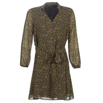 Υφασμάτινα Γυναίκα Κοντά Φορέματα One Step RUNI Black / Kaki