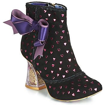 Παπούτσια Γυναίκα Μποτίνια Irregular Choice OUTTA TIME Black