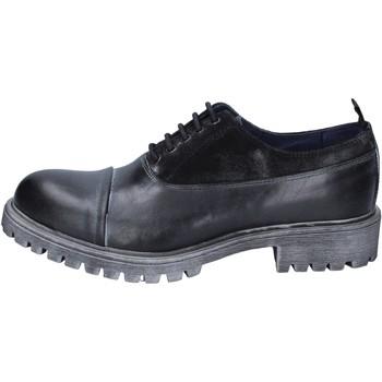 Παπούτσια Άνδρας Derby & Richelieu Ossiani BS724 Μαύρος