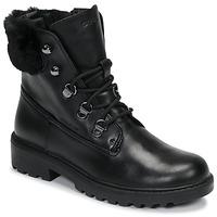 Παπούτσια Κορίτσι Μπότες Geox J CASEY GIRL WPF Black