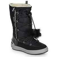 Παπούτσια Κορίτσι Μπότες για την πόλη Geox J SLEIGH GIRL B ABX Black