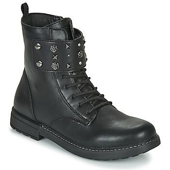 Παπούτσια Κορίτσι Μπότες Geox J ECLAIR GIRL Black