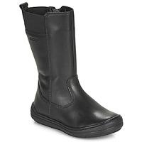 Παπούτσια Κορίτσι Μπότες για την πόλη Geox J HADRIEL GIRL Black