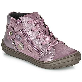 Παπούτσια Κορίτσι Μπότες Geox J HADRIEL GIRL Prune