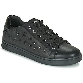 Παπούτσια Κορίτσι Χαμηλά Sneakers Geox J DJROCK GIRL Black