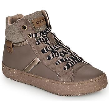 Παπούτσια Κορίτσι Ψηλά Sneakers Geox J KALISPERA GIRL Grey