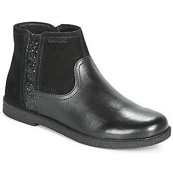 Παπούτσια Κορίτσι Μπότες Geox J SHAWNTEL Black