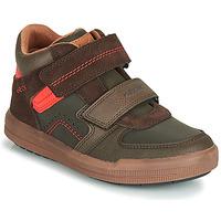 Παπούτσια Αγόρι Ψηλά Sneakers Geox J ARZACH BOY Brown / Orange