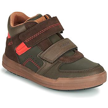 Ψηλά Sneakers Geox J ARZACH BOY ΣΤΕΛΕΧΟΣ: Συνθετικό και ύφασμα & ΕΠΕΝΔΥΣΗ: Ύφασμα & ΕΣ. ΣΟΛΑ: Δέρμα & ΕΞ. ΣΟΛΑ: Καουτσούκ