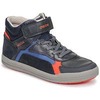 Παπούτσια Αγόρι Ψηλά Sneakers Geox J ARZACH BOY Μπλέ / Orange