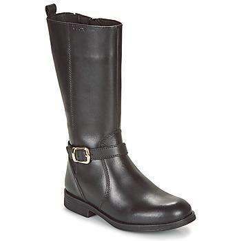 Παπούτσια Κορίτσι Χαμηλά Sneakers Geox JR AGATA Black