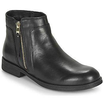 Παπούτσια Κορίτσι Μπότες Geox JR AGATA Black