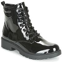 Παπούτσια Κορίτσι Μπότες Geox J CASEY GIRL Black