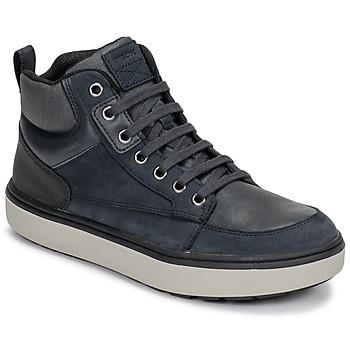 Ψηλά Sneakers Geox J MATTIAS B BOY ABX ΣΤΕΛΕΧΟΣ: Δέρμα & ΕΠΕΝΔΥΣΗ: Ύφασμα & ΕΣ. ΣΟΛΑ: Ύφασμα & ΕΞ. ΣΟΛΑ: Καουτσούκ