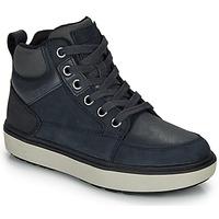 Παπούτσια Αγόρι Ψηλά Sneakers Geox J MATTIAS B BOY ABX Μπλέ / Black / Αδιάβροχο