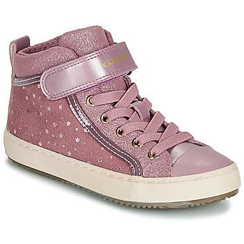 Παπούτσια Κορίτσι Ψηλά Sneakers Geox J KALISPERA GIRL Ροζ