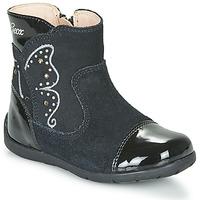 Παπούτσια Κορίτσι Μπότες για την πόλη Geox B KAYTAN Black