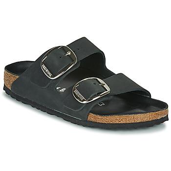Παπούτσια Γυναίκα Τσόκαρα Birkenstock ARIZONA BIG BUCKLE Μαυρο