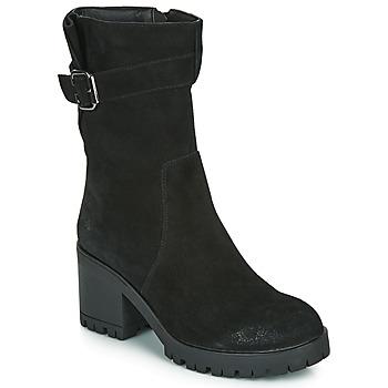 Παπούτσια Γυναίκα Μπότες για την πόλη Les Petites Bombes BOUM Black