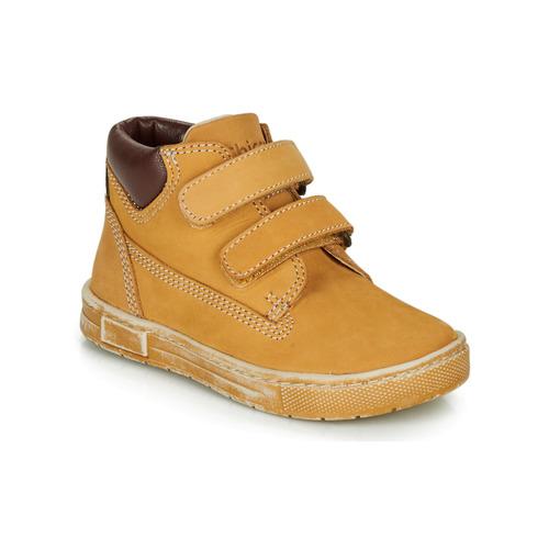 Παπούτσια Αγόρι Ψηλά Sneakers Chicco CLAY Ocre