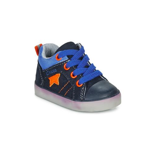 Παπούτσια Αγόρι Ψηλά Sneakers Chicco GRADO Μπλέ
