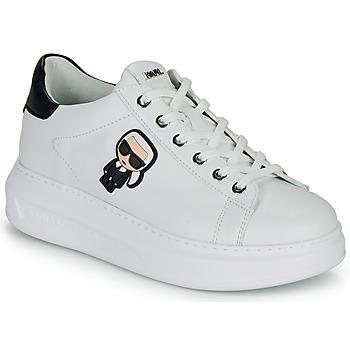 Παπούτσια Γυναίκα Χαμηλά Sneakers Karl Lagerfeld KAPRI KARL IKONIC LO LACE Άσπρο / Black