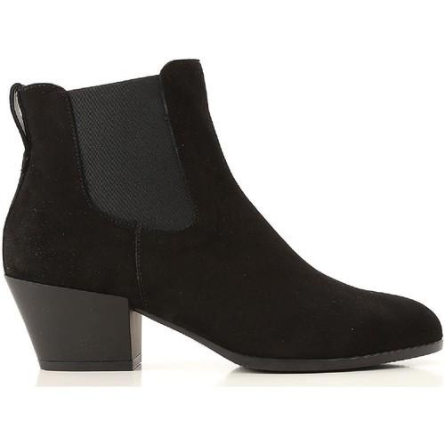 Παπούτσια Γυναίκα Χαμηλές Μπότες Hogan HXW4010W890CR0B999 nero