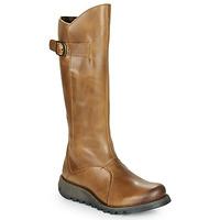 Παπούτσια Γυναίκα Μπότες για την πόλη Fly London MOL 2 Camel