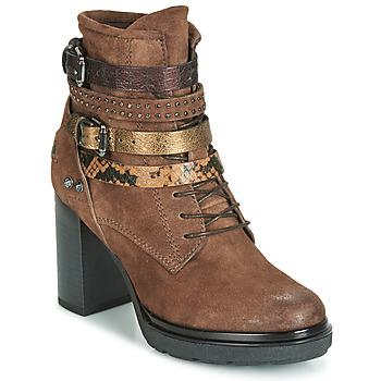 Παπούτσια Γυναίκα Μποτίνια Metamorf'Ose FALENCIA Camel