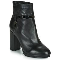 Παπούτσια Γυναίκα Μποτίνια Café Noir GLORIA Black