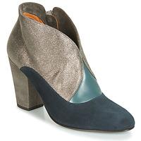 Παπούτσια Γυναίκα Μποτίνια Chie Mihara ELGI Silver / Marine