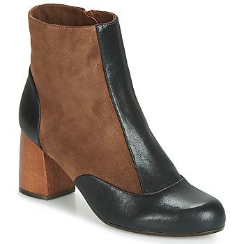 Παπούτσια Γυναίκα Μποτίνια Chie Mihara MICHELE Black / Brown
