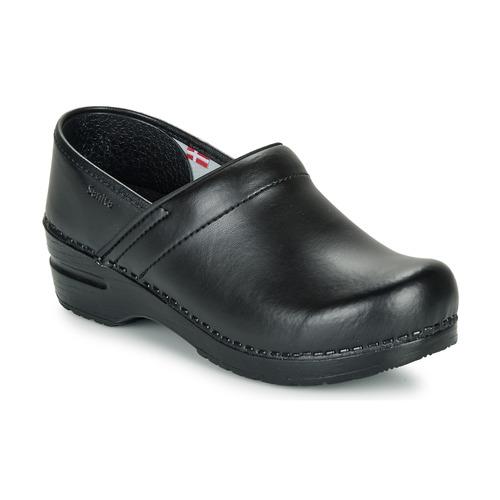 Παπούτσια Γυναίκα Σαμπό Sanita PROF Black