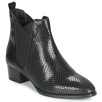 Παπούτσια Γυναίκα Μποτίνια Ravel LOBURN Black
